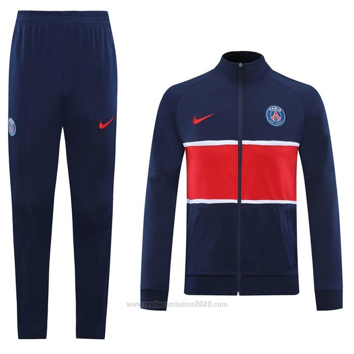 Chandal de Chaqueta del Paris Saint-Germain 2020-2021 Azul - Camisetas de futbol baratas 2019/2020
