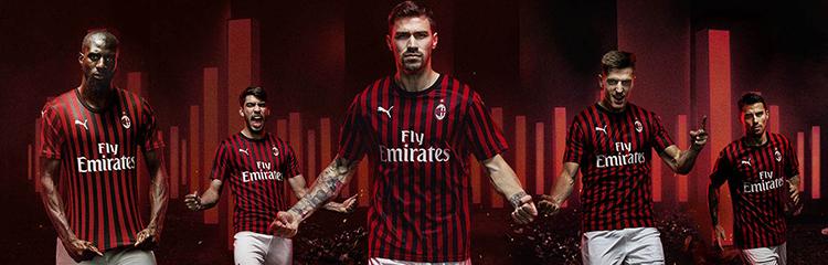 equipaciones de futbol AC Milan baratas
