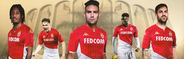 equipaciones de futbol AS Monaco baratas