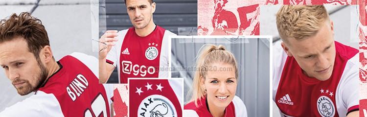 equipaciones de futbol Ajax baratas