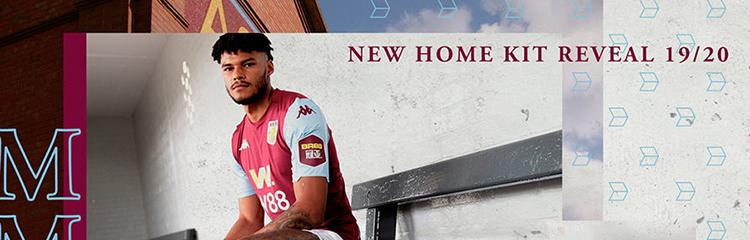 equipaciones de futbol Aston Villa baratas