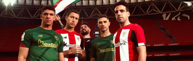 equipaciones de futbol Athletic Bilbao baratas