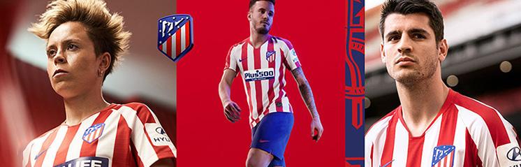 equipaciones de futbol Atletico Madrid baratas
