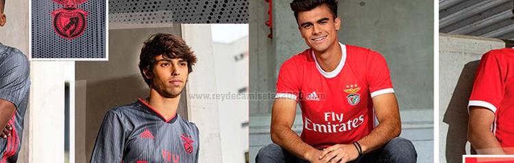 equipaciones de futbol Benfica baratas