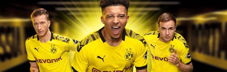 equipaciones de futbol Borussia Dortmund baratas