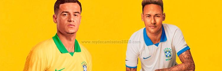 equipaciones de futbol Brasil baratas