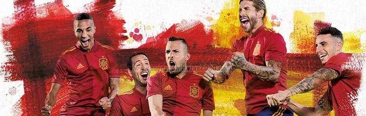 equipaciones de futbol Espana baratas