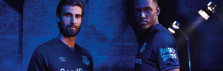 equipaciones de futbol Everton baratas