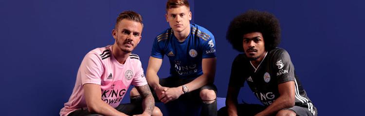 equipaciones de futbol Leicester City baratas
