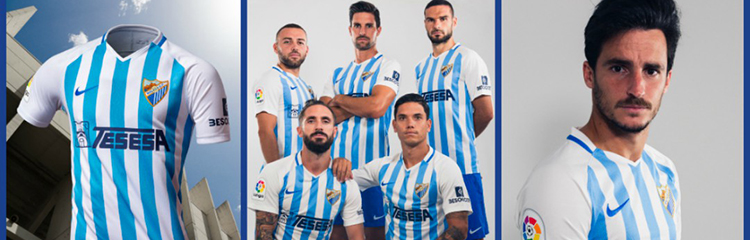 equipaciones de futbol Malaga baratas