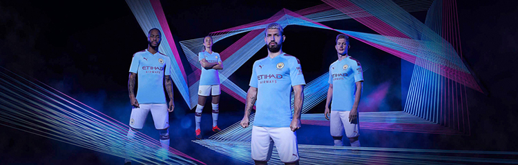 equipaciones de futbol Manchester City baratas