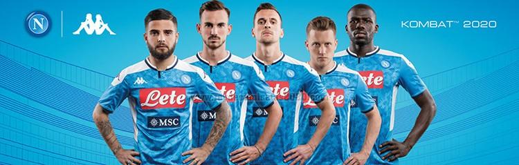 equipaciones de futbol Napoli baratas