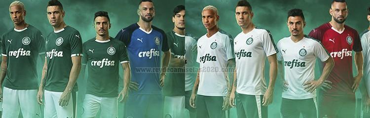equipaciones de futbol Palmeiras baratas
