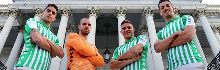 equipaciones de futbol Real Betis baratas