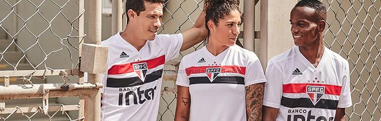 equipaciones de futbol Sao Paulo baratas