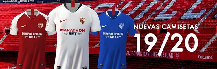 equipaciones de futbol Sevilla baratas
