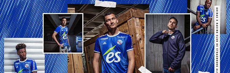 equipaciones de futbol Strasbourg baratas