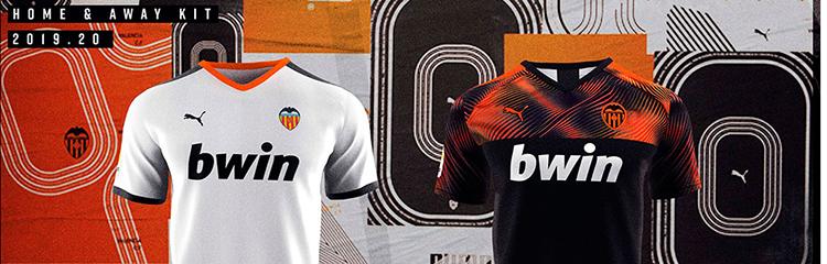 equipaciones de futbol Valencia baratas